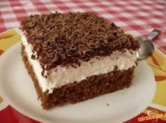 TĚSTO: 1 balíček prášku do pečiva 100 g cukru krupice 100 ml vody 200 ml oleje… Baking Recipes, Cake Recipes, Dessert Recipes, Czech Recipes, Mini Cheesecakes, No Bake Cake, Cupcakes, Food Inspiration, Sweet Recipes
