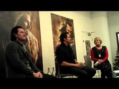 Richard Armitage and Luke Evans at Waterstones Piccadilly (Part 2) - 06/12/2013 - YouTube