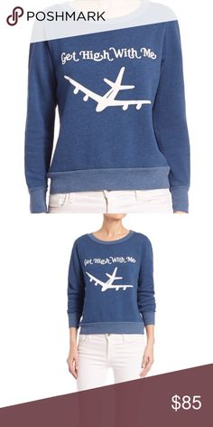 Wildfox jumper✈️ Super cute get high with me Wildfox jumper size xs retail $98 Rare to find❤️ Wildfox Sweaters