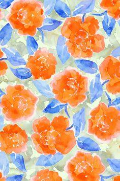 Cottage Peonies Orange Canvas Wall Art by Jacqueline Maldonado Orange Wallpaper, Flower Wallpaper, Pattern Wallpaper, Wallpaper Backgrounds, Iphone Wallpaper, Framed Art Prints, Canvas Prints, Peony Print, Pretty Wallpapers
