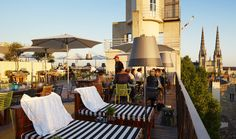 #MamaShelter #Hotel #Bordeaux #France #rooftop