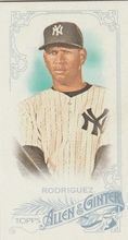 2015 Topps Allen & Ginter Mini #276 Alex Rodriguez - New York Yankees