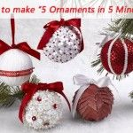 50 Ornaments To Make For Christmas - DIY Crafty Projects