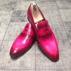 Patina : Pink Panther - Model : 8489 Blake : 360€ #jmlegazel #dandy #elegance…