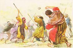 Abraham redder nevøen Lot etter at han var blitt bortført med folkene sine og det de eide