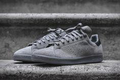 promo code 53b6e 463b3 Adidas Originals Stan Smith – All Grey Adidas Stan Smith, Stan Smith  Sneakers, Leather