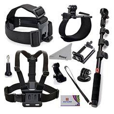 Deyard ZG-634 GoPro Accessories Kit Premium Set for GoPro...…