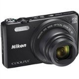 #10: Nikon Coolpix S7000 16 MP Digital Camera with 20x Optical IS Zoom 3-Inch LCD Black (Certified Refurbished) - Shop for digital SLRs (http://amzn.to/2bZ3ZZk) mirrorless cameras (http://amzn.to/2bsCDJs) lenses (http://amzn.to/2bZ35fr) drones (http://amzn.to/2bRmtgx) security cameras (http://amzn.to/2bsBiCG)