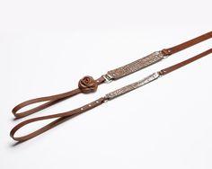 Duka - Luxury leather dog leash | Signe Louka