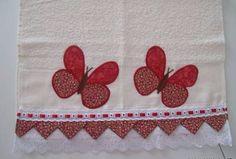 Tutorial cómo decorar con tela servilletas y toallas de cocina ~ lodijoella