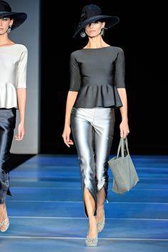 Giorgio Armani Spring 2012 – Vogue                              …