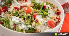 Ha unod a rizst. Vegetable Recipes, Meat Recipes, Vegetarian Recipes, Healthy Recipes, Tzatziki, Vinaigrette, Bulgur Salad, Cold Dishes, Valeur Nutritive
