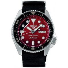 Seiko and Queen's Legendary Lead Guitarist Collaborate on a Guitar-Inspired Seiko 5 Sports Model. Meet the new Seiko 5 Sports Brian May Special Seiko 5 Sports Automatic, Gents Watches, Fine Watches, Seiko Watches, Watches For Men, Brian May Red Special, Monochrome Watches, Nylons, Hobbies For Men