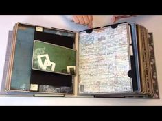 "▶ Retro ""Fitted"" Travel Mini Album - YouTube"