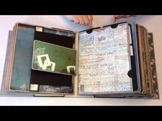 "▶ Retro ""Fitted"" Travel Mini Album - YouTube"