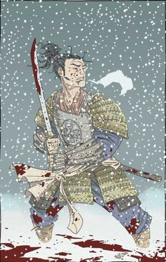 """""""Hell hath no hold on a warrior's mind See how the snow has made each of us blind Vibrant colors spray from new dead Staining the earth such a beautiful red."""" - Trivium, Silence In The Snow"""
