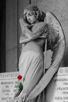 Just Can't Get Enough of This One! - Cimitero di Staglieno II by ♠ Violent ♡ Doll ♠, via Flickr