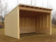Horse Shelters More