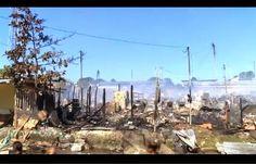Galdino Saquarema Noticia: Incêndio destrói mais de 300 barracos de favela em Recife