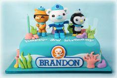 Octonauts cake by The Bunny Baker