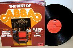 ABBA - The Best Of ABBA  Lp 1975