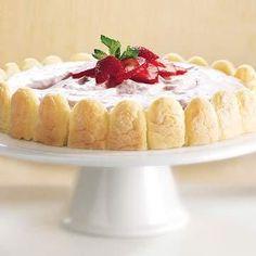 tofu dessert recipes, easy dessert recipes for kids, free dessert recipes - Our Best Berry Desserts | Diabetic Living Online Strawberry Cream Pie