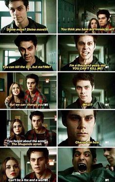 Dylan O'Brien is one kick-ass, awesome actor!!!! This is by far one of the best scenes in Teen Wolf history!