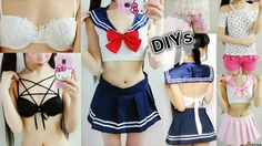 5 Clothes DIYs:DIY Sailor Beachwear/Costume(Scratch)+DIY Pentagram&Embro...