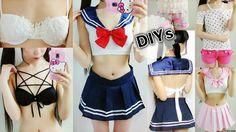 5 Clothes DIYs:DIY Sailor Beachwear/Costume(Scratch)+DIY Pentagram&Embro...