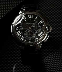 I love Roman numerals. My wedding ring is etched with then and my favorite watch has them. This one is above my pay grade tho. -Ballon Blue de Cartier.