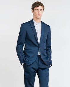 TECHNICAL FABRIC SUIT-Suits-MAN | ZARA Spain