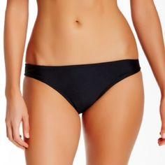 0967c1dc9ff2c NWT Bikini Lab Black Skimpy Hipster Bottoms Brand new Bikini Lab solid  skimpy hipster bikini bottom. A solid stretch bikini in a low rise cut.