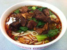 Szechuan Beef Noodle Soup.