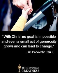 +St John Paul II+ St John Paul Ii, Pope John, Catholic, Acting, Saints, Goals, Roman Catholic