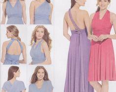 Simplicity Sewing Pattern 1154 Misses' Wrap Twist Tie Dress New Uncut