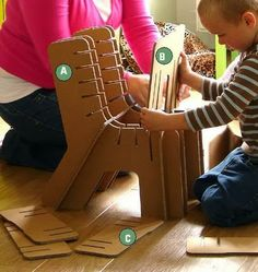 How to make recycled cardboard furniture