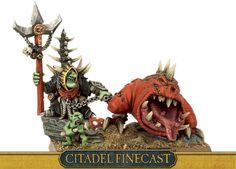 Orcs & Goblins Skarsnik, Warlord of the Eight Peaks