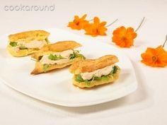 Eclair farciti con salsa ai wurstel: Ricette di Cookaround   Cookaround