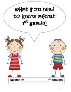 END OF YEAR: included are a graphic organizer, writing paper, and book cover for Kindergarten, 1st grade, and 2nd grade.