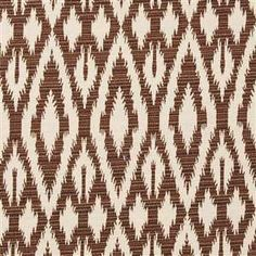 Destinations Ikat Pillow, Chocolate