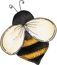 Changing Seasons - carmen freer - Picasa Web Albums More Bee Clipart, I Love Bees, Bee Cards, Pintura Country, Illustration, Bee Theme, Bee Happy, Bees Knees, Tole Painting