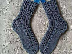 Jeans by Sockengarten Crochet Socks Pattern, Knitting Patterns Free, Knit Crochet, Knitting Socks, Hand Knitting, Knit Socks, Women's Socks, Lots Of Socks, Little Cotton Rabbits