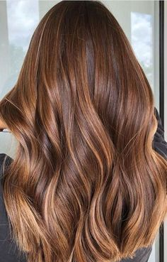 Mid-Lighting Is the Hair Color Secret We All Need to Know About: Rusty Bronde - Cabello Rubio Hair Color Ideas For Brunettes Balayage, Hair Color Balayage, Bronde Haircolor, Balayage Hair Auburn, Light Brown Hair, Light Hair, Hair Lights, Low Lights, Color Del Pelo
