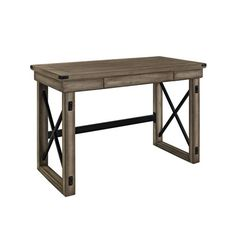 altra furniture wildwood writing desk with metal frame amazoncom furniture 62quot industrial wood