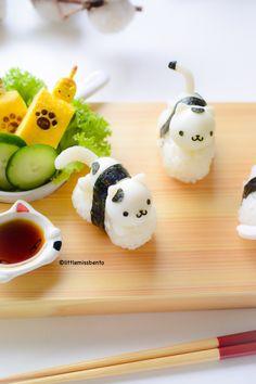 Quail Egg Kitty Sushi (3)
