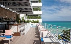 In total Miami fashion, SOHO Beach House has that down-home-but-glossier tropical vibe we're all about for a beachside hang. | Photo Credit: SOHO Beach House