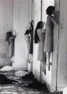 Pina Bausch - Blaubart (performance still), 1977 #observable #phenomenon