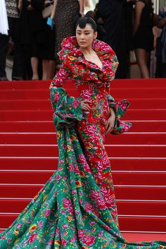 Viann Zhang attends the opening ceremony and premiere of 'La Tete Haute' ('Standing Tall') during the 68th annual Cannes Film Festival on May 13, 2015 in Cannes, France.