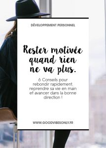Conseils-motivation