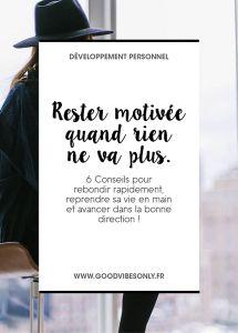 Conseils-motivation